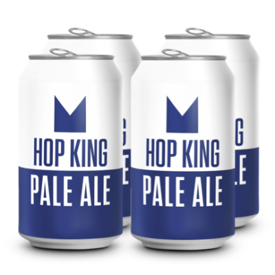 Hop King Pale Ale Can