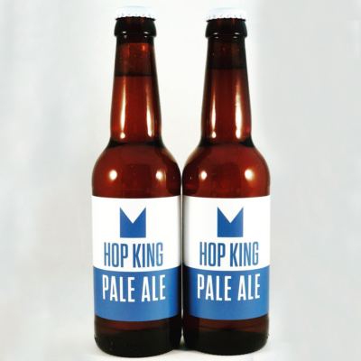 Hop King Pale Ale bottles