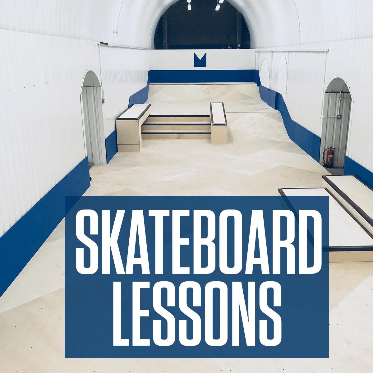 Skateboard Lessons, London Skatepark.