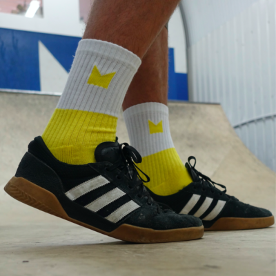 Hop King Socks in Yellow