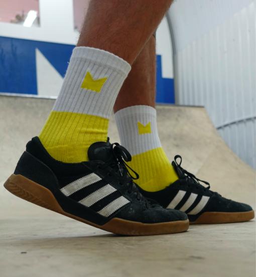 Hop King Socks in Yellow